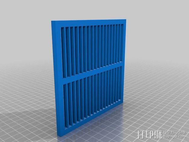 框式结构托盘 3D模型  图2