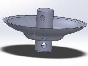 蜂鸟喂食器 阻蚁器 3D模型