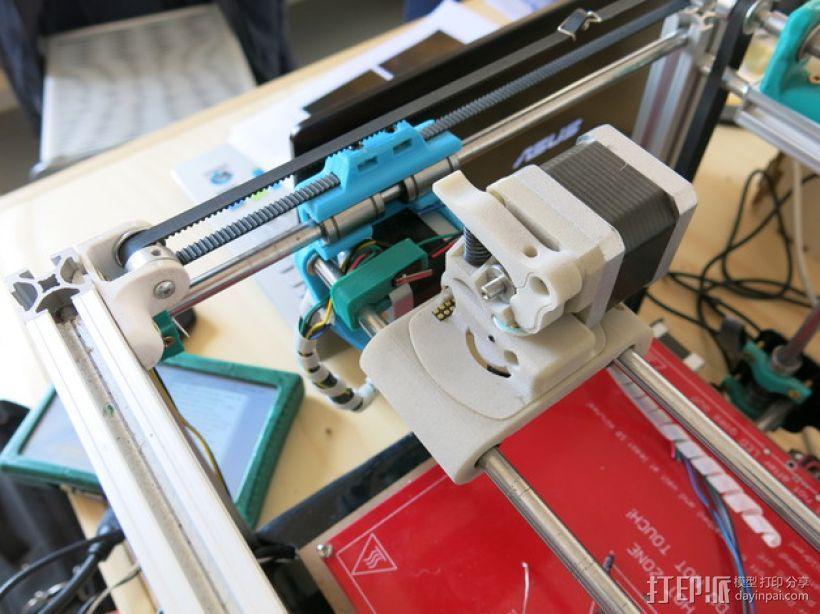 可更换挤出机的挤出机支架 3D模型  图12