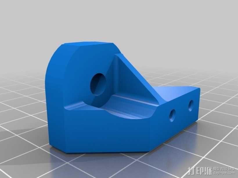 可调节的限位开关 3D模型  图3