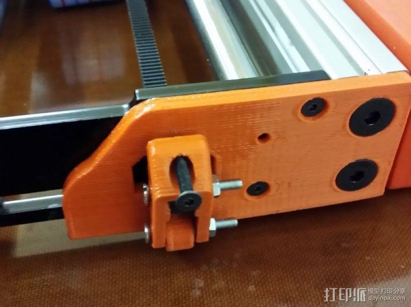 惰轮张紧器 3D模型  图2