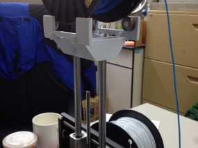 打印机顶部的工具架 3D模型