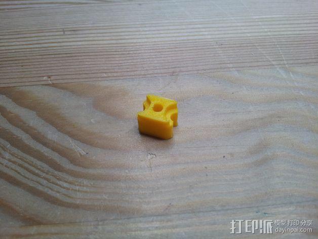 锁紧螺母 3D模型  图3