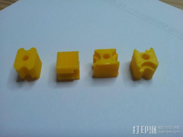 锁紧螺母 3D模型  图4
