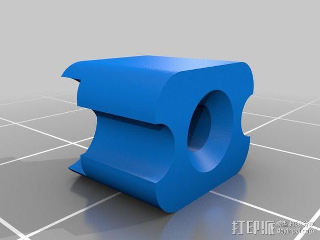 锁紧螺母 3D模型  图6