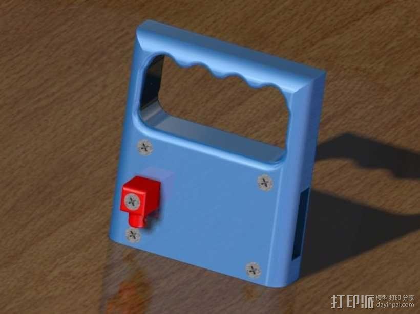 PRUSA I3打印机的控制面板 3D模型  图1