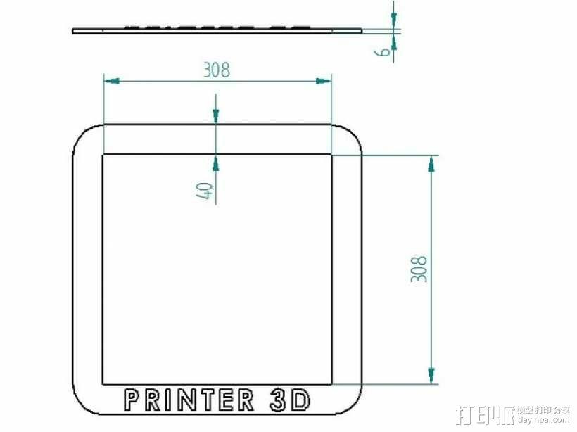 PRUSA I3打印机的控制面板 3D模型  图5