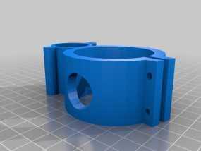 12V 的泵支架 3D模型
