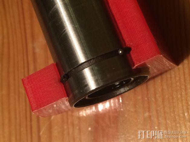 RepRapPro打印机X轴的部件 3D模型  图2