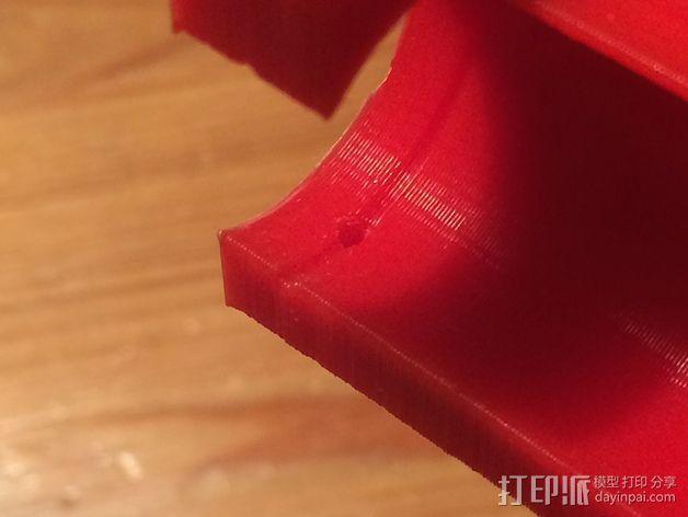 RepRapPro打印机X轴的部件 3D模型  图4