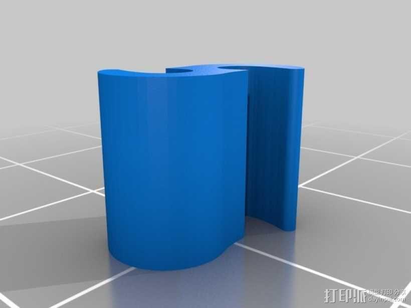 线材夹 3D模型  图2