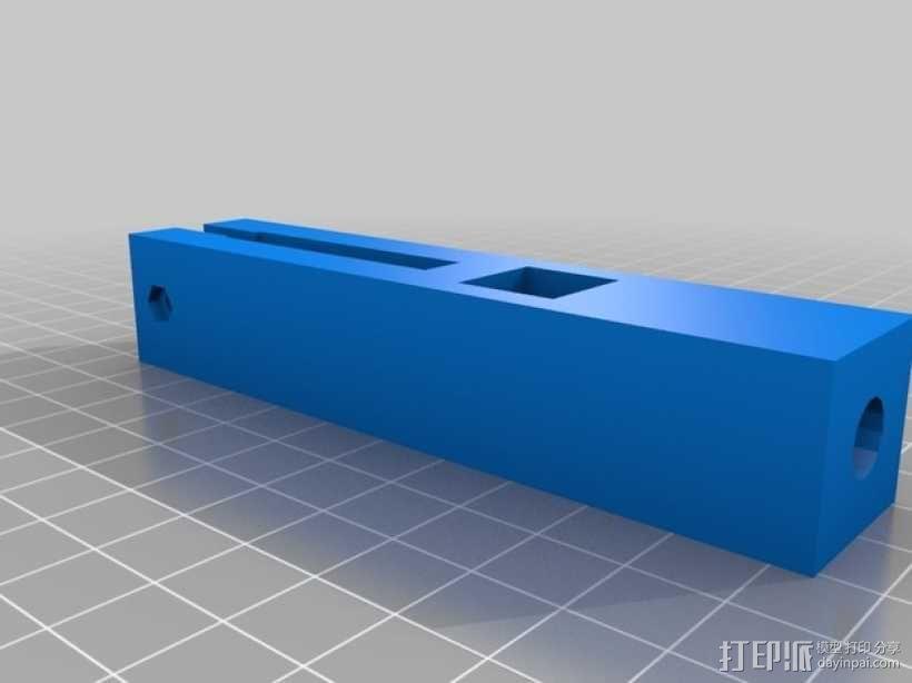 Prusa i3打印机的线轴支撑器 3D模型  图3