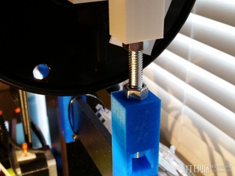 Prusa i3打印机的线轴支撑器 3D模型  图6