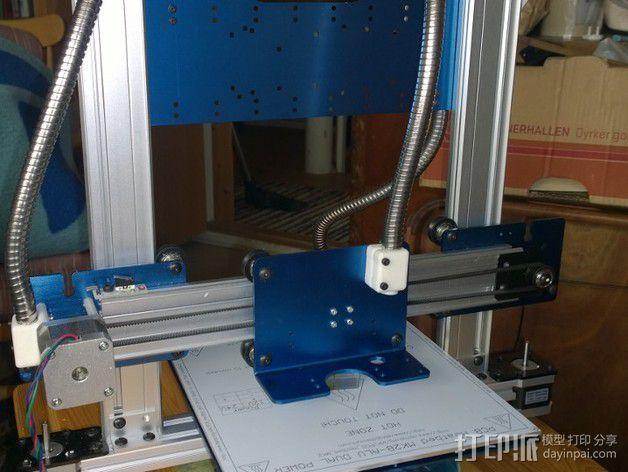 智能控制器显示屏外框 3D模型  图4