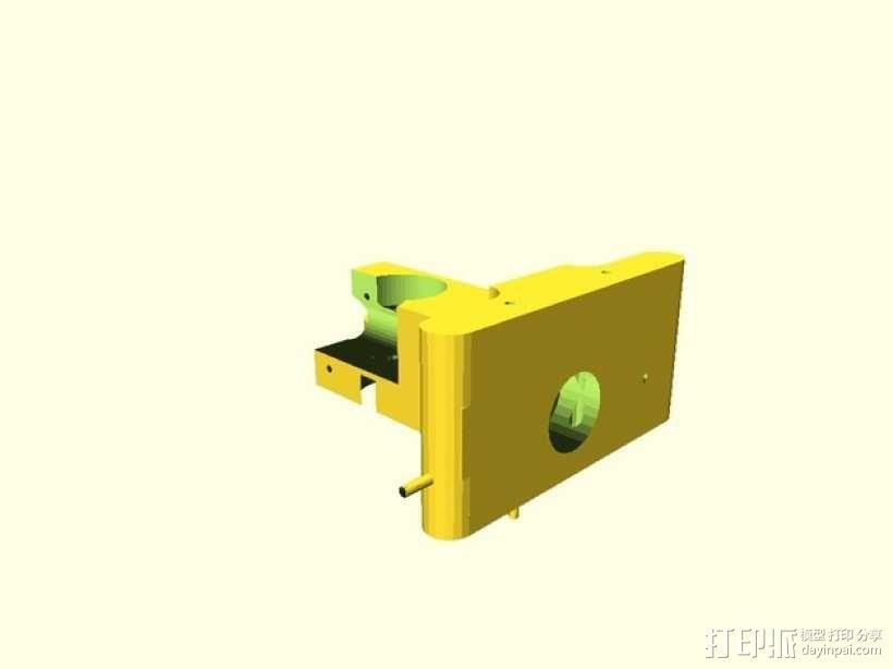 Greg Wade挤出机 3D模型  图1