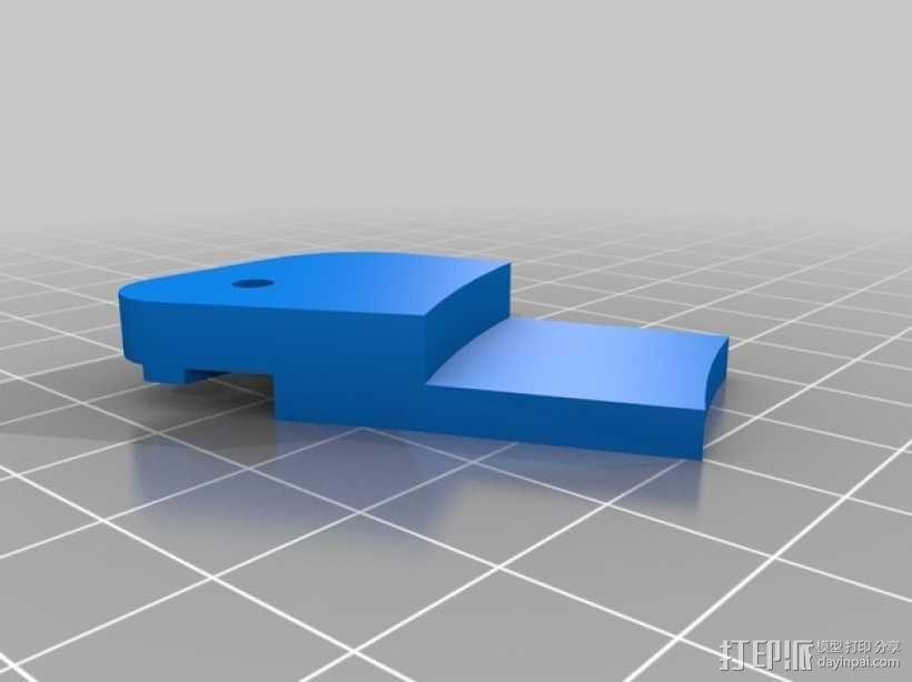 Mini Kossel打印机的FSR 固定器 3D模型  图4