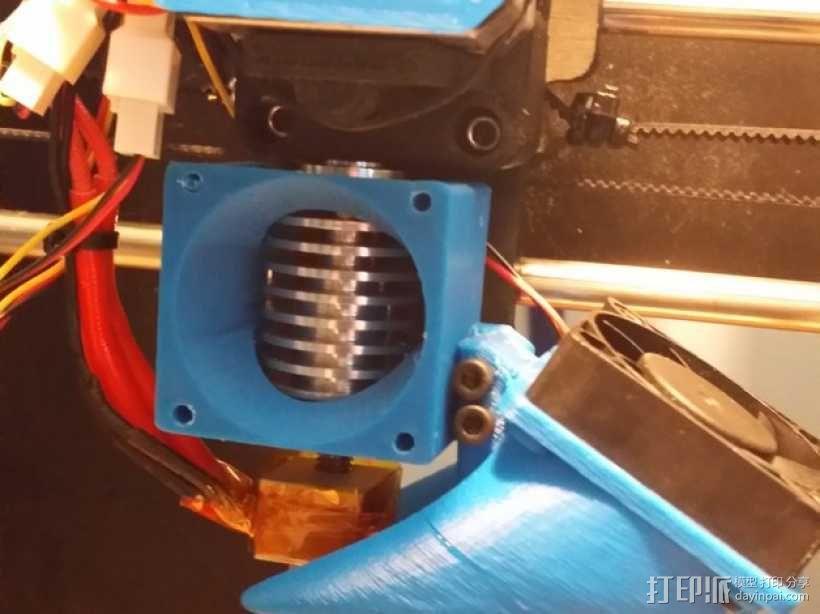 喷头风扇支架 3D模型  图5