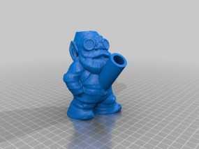 树精 小矮人 3D模型