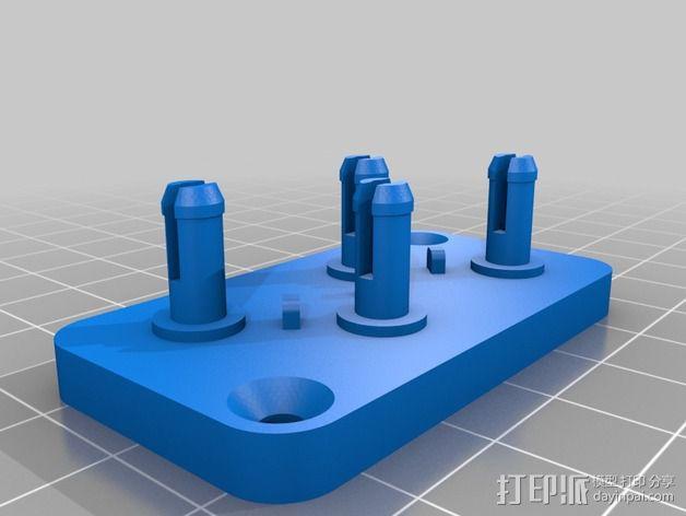 线材拉直器 3D模型  图3