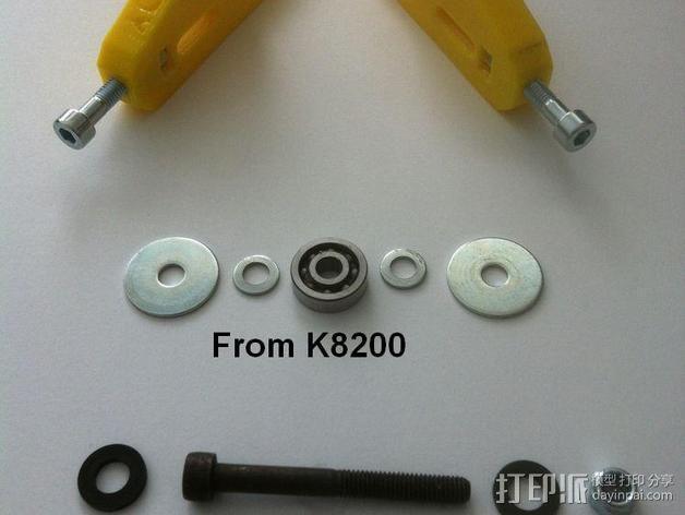 K8200打印机的皮带张紧器 3D模型  图10