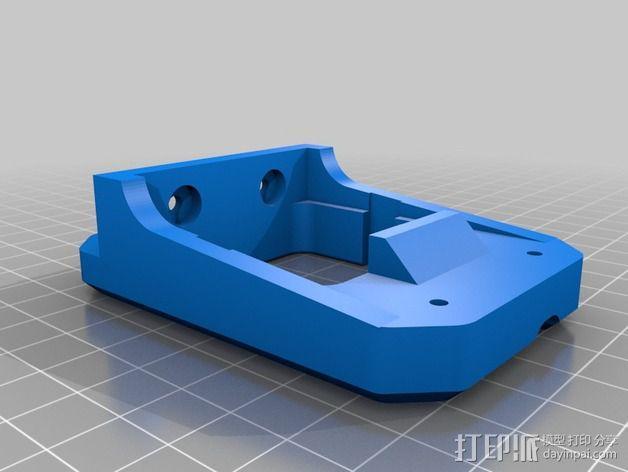 挤出机支架 3D模型  图1