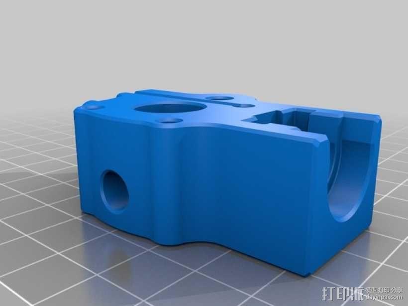 MakerGear M2 打印机的送料器 3D模型  图2