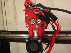 MakerGear M2 打印机的送料器 3D模型