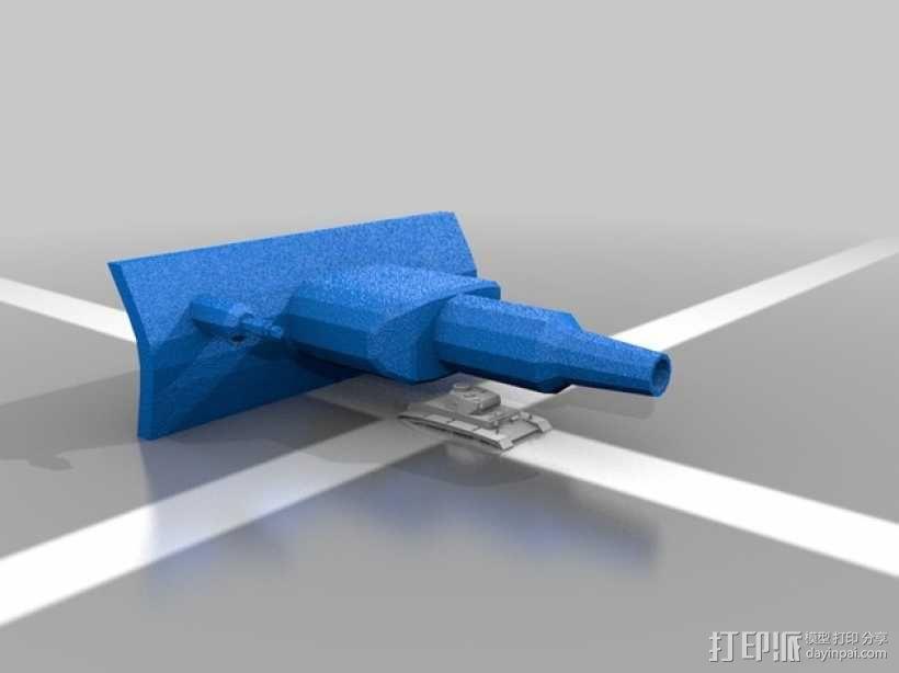 DW II坦克 3D模型  图2