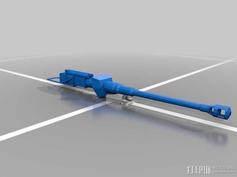 DickerMax坦克 大麦克斯自行反坦克炮 3D模型  图2