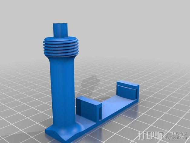 Prusa i3打印机上的相机支架 3D模型  图1