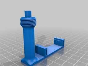 Prusa i3打印机上的相机支架 3D模型