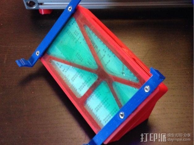 R.U.M.B.A.电路板外罩 带风扇 3D模型  图6