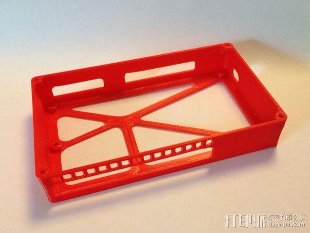 R.U.M.B.A.电路板外罩 带风扇 3D模型  图4