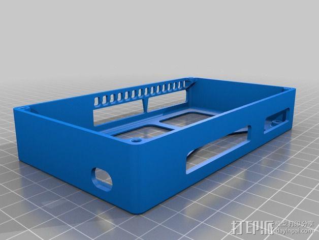 R.U.M.B.A.电路板外罩 带风扇 3D模型  图11