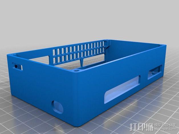 R.U.M.B.A.电路板外罩 带风扇 3D模型  图13