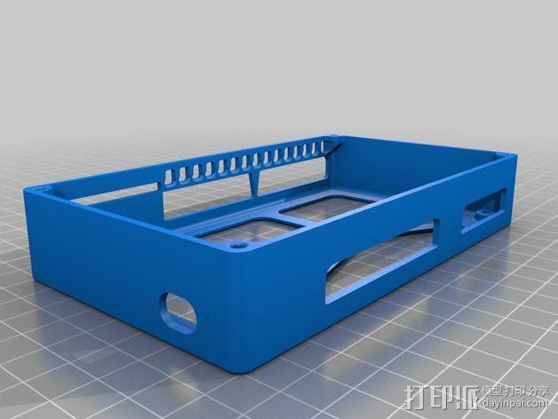 R.U.M.B.A.电路板外罩 带风扇 3D模型  图12
