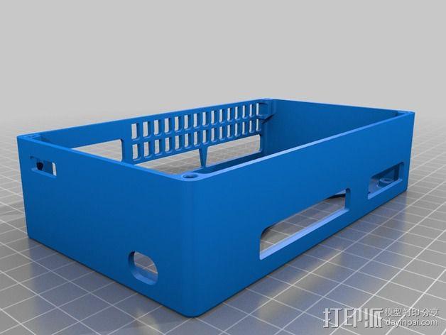 R.U.M.B.A.电路板外罩 带风扇 3D模型  图14