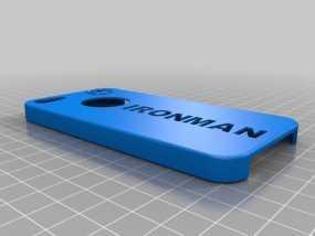 钢铁侠Iphone 5 手机套 3D模型