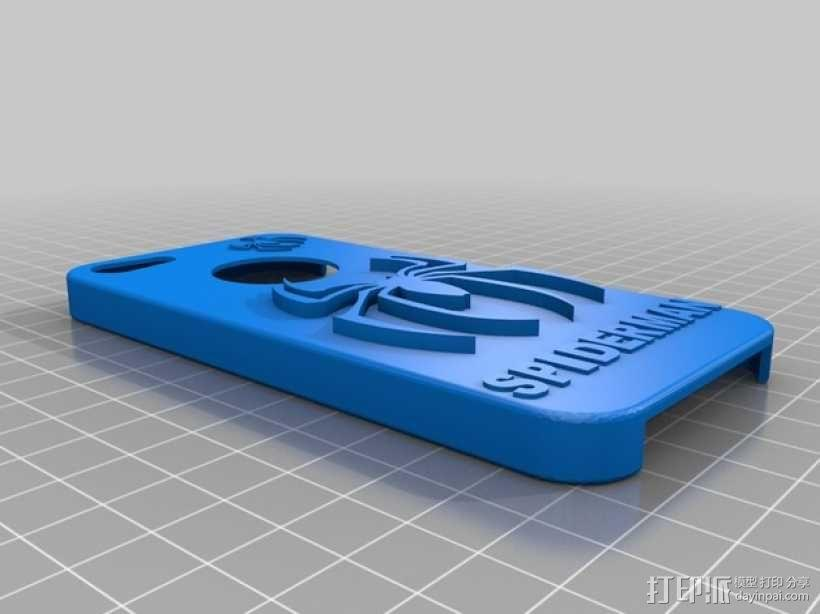 蜘蛛侠iPhone5手机套 3D模型  图1