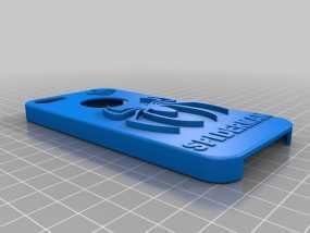 蜘蛛侠iPhone5手机套 3D模型