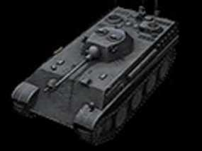 德国7阶轻型坦克 Auf Panther 3D模型