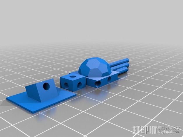 火星基地 3D模型  图2
