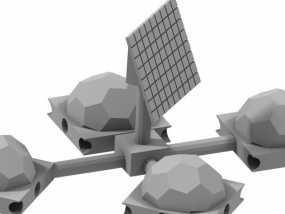 火星基地 3D模型