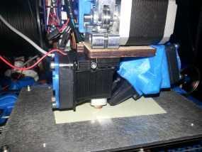 喷头支架 3D模型