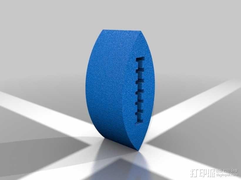 橄榄球 3D模型  图1
