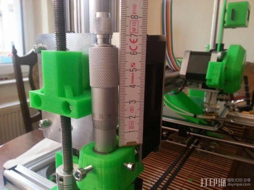 K8200打印机的开关 3D模型  图1