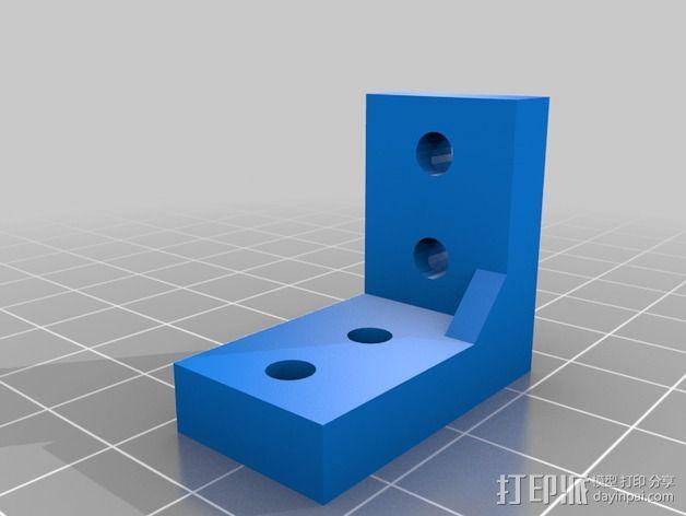 K8200打印机的开关 3D模型  图2