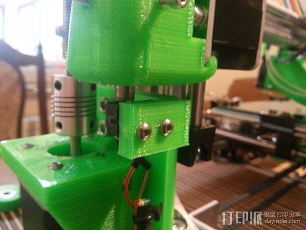 K8200打印机的开关 3D模型  图9