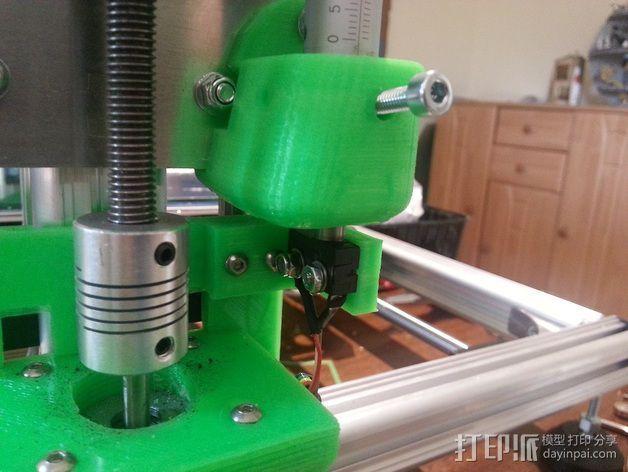 K8200打印机的开关 3D模型  图10