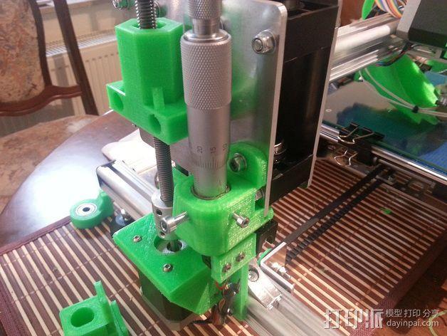 K8200打印机的开关 3D模型  图11
